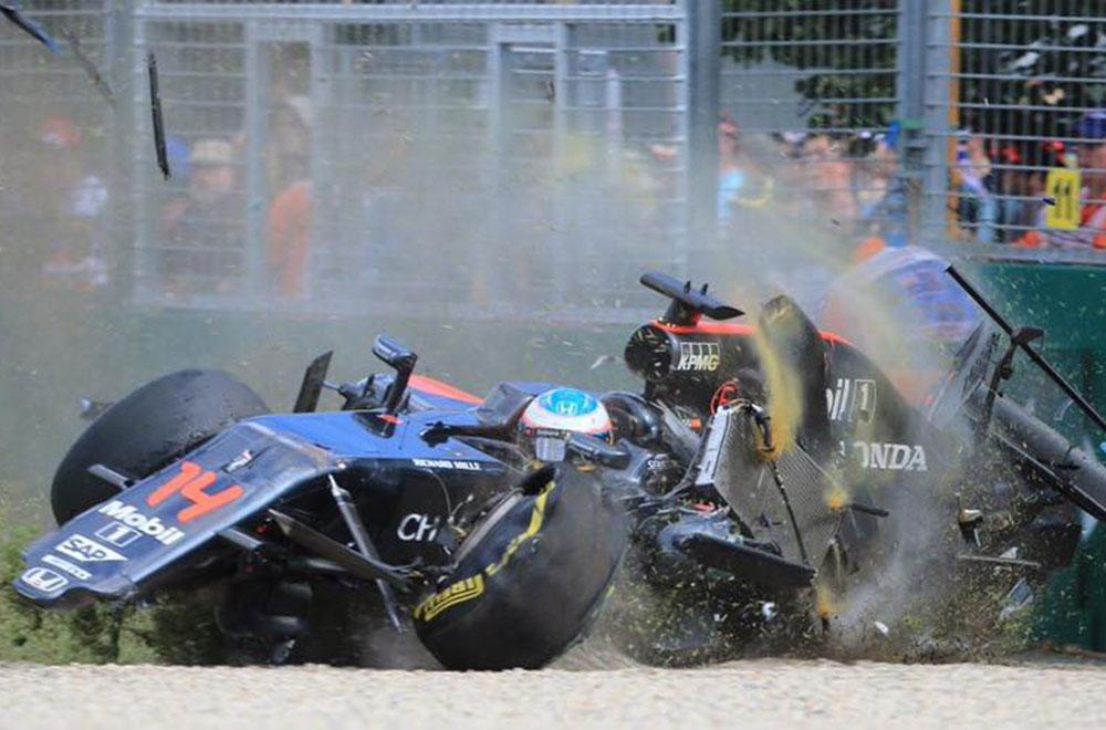 McLaren Honda Alonso GP da Austrália