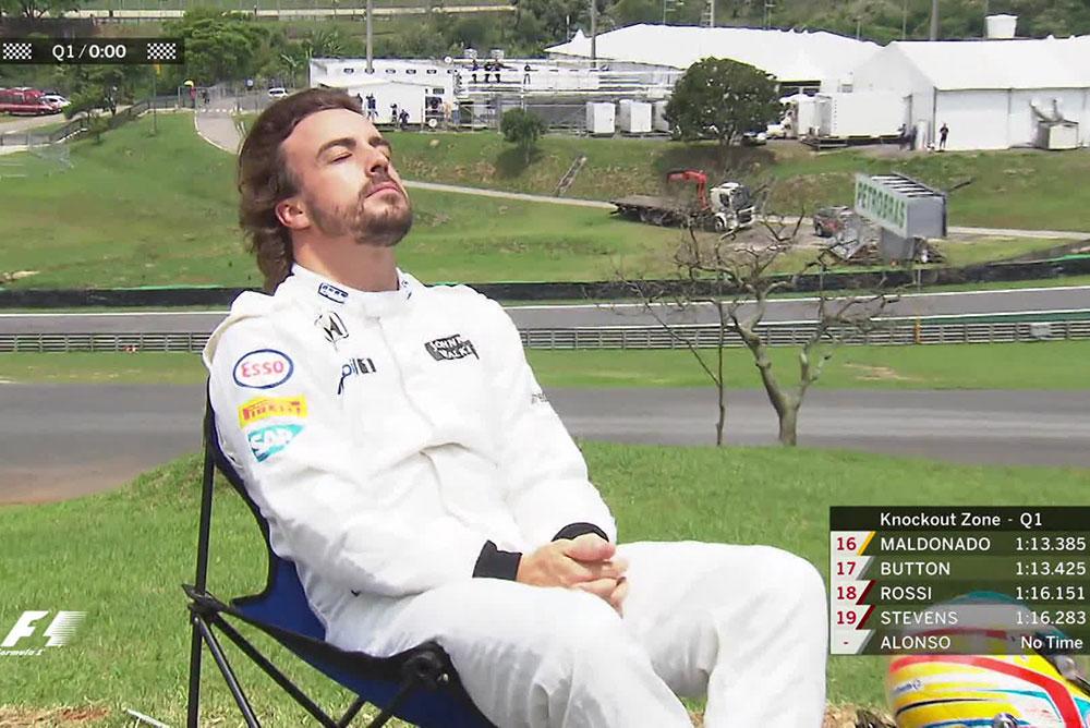 Fernando Alonso GP do Brasil
