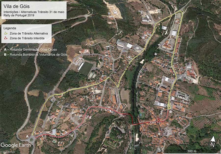 Wrc Rali De Portugal Condicionamentos De Transito Em Gois