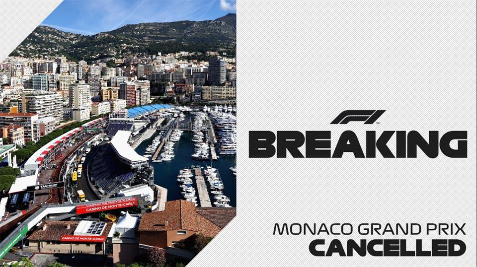 F1: Não há Grande Prémio do Mónaco de F1 em 2020